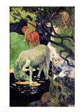 The White Horse, 1898 Art Print