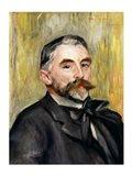 Portrait of Stephane Mallarme Art Print