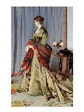 Portrait of Madame Louis Joachim Gaudibert, 1868 Art Print