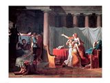 Lictors Bearing to Brutus the Bodies of his Sons, 1789 Art Print