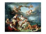 The Rape of Europa, 1747 Art Print