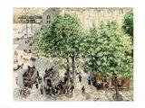 Place du Theatre-Francais, Spring, 1898 Art Print