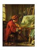 The Painter in his Studio Art Print