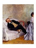 Monsieur and Madame Edouard Manet Art Print