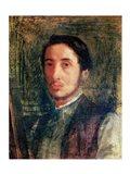 Self Portrait as a Young Man Art Print