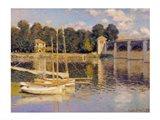 The Bridge at Argenteuil, 1874 Art Print