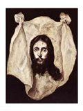Face of the Christ Art Print