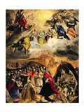The Adoration of the Name of Jesus, c.1578 Art Print
