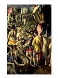 The Martyrdom of St. Maurice Art Print