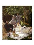 Dejeuner sur l'Herbe, Chailly, 1865 Art Print