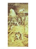 Christ on the Road to Calvary, from the Temptation of St. Anthony triptych Art Print