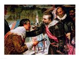 The Surrender of Breda Art Print