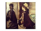 Madame Jeantaud in the mirror Art Print