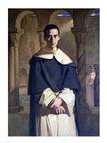Portrait of Jean Baptiste Henri Lacordaire Art Print