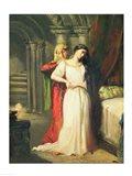 Desdemona Retiring to her Bed, 1849 Art Print