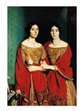 The Two Sisters Art Print