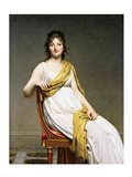 Portrait of Madame Raymond de Verninac Art Print