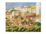Terrace in Cagnes, 1905 Art Print