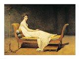 Madame Recamier, 1800 Art Print