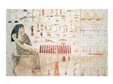 Stela of Princess Nefertiabet Art Print