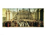 St. Mark Preaching in Alexandria, Egypt Art Print
