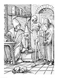 Death and the Physician Art Print