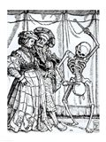 Death and the Noblewoman Art Print