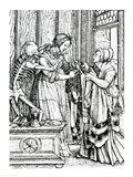 Death and the Mistress Art Print