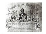 Proclamation of Emancipation by Abraham Lincoln, 22nd September 1862 Art Print