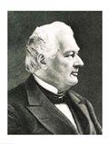 Portrait of Fillmore Millard Art Print