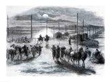 The Civil War in America Art Print