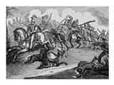 The Battle of Bracito Art Print