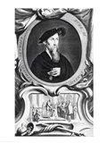 Portrait of Edward Seymour, 1536, Detail Art Print