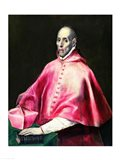 Portrait of Cardinal Juan de Tavera Art Print
