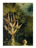 The Tree of the Knowledge of Good and Evil, detail from the right panel of The Garden of Earthly Delights, c.1500 Art Print