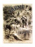 Poster advertising 'Lakme', Opera Art Print