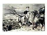 George Washington crossing the Delaware Art Print