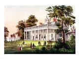 The Home of George Washington Art Print