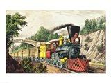The Express Train Art Print