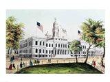 City Hall, New York Art Print