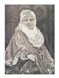 'La Favorita'- Woman with a Veil Art Print