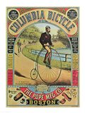 Advertisement for the Columbia Bicycle Art Print