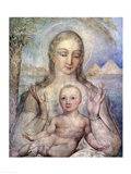 The Virgin and Child in Egypt, 1810 Art Print