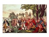 William Penn's Treaty with the Indians Art Print