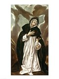 St.Dominic of Guzman Art Print