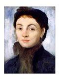 Portrait of Josephine Gaujelin, 1867 Art Print
