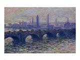Waterloo Bridge, 1902 Art Print