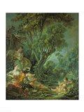 The Angler, 1759 Art Print