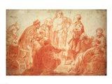 The Doubting Thomas Art Print