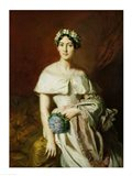 Mademoiselle Marie-Therese de Cabarrus, 1848 Art Print